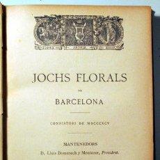 Libros antiguos: (JOAQUIM RUYRA) - JOCHS FLORALS DE BARCELONA EN 1895 - BARCELONA 1895. Lote 142633702