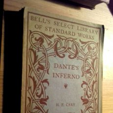 Libros antiguos: YEAR 1888 - DANTE'S INFERNO BY H.F. CARR. Lote 144055042