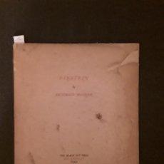 Libros antiguos: MACLEISH ARCHIBALD. EINSTEIN. THE BLACK SUN PRESS.. Lote 144884018