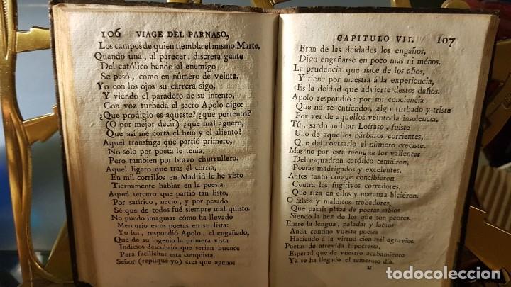 Libros antiguos: 1805 - Cervantes - Viaje del Parnaso - Foto 2 - 144909974