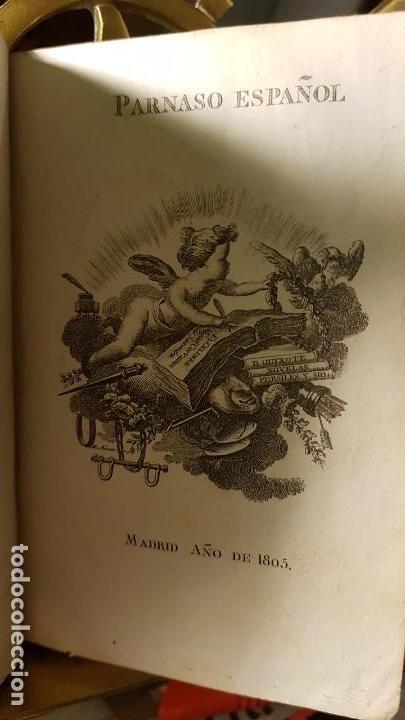 Libros antiguos: 1805 - Cervantes - Viaje del Parnaso - Foto 3 - 144909974