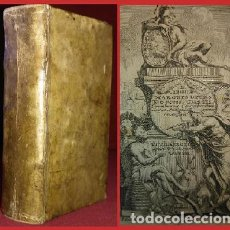 Libros antiguos: BELL0 LIBRO EN PERGAMINO DE 1704 – EXTRAORDINARIAMENTE RARO (LEER). Lote 146160134