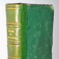 Libros antiguos: POEMA DE ALFONSO ONCENO, REY DE CASTILLA Y LEÓN. Lote 146300562