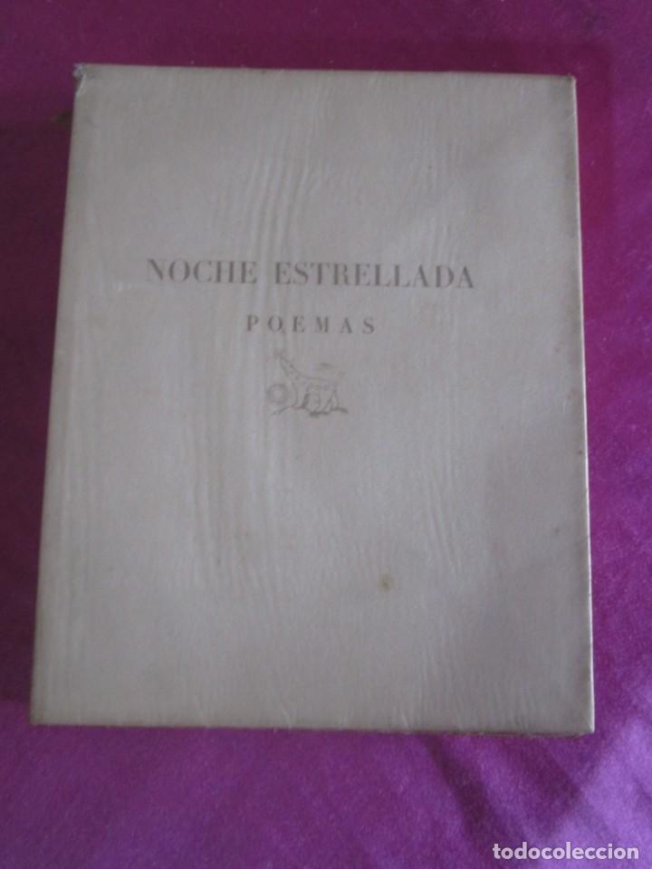 NOCHE ESTRELLADA. POEMAS. EDICION ESPECIAL DE 145 EJEMPLARES LARRAGOITI 1940. (Libros antiguos (hasta 1936), raros y curiosos - Literatura - Poesía)