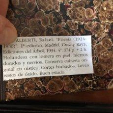Libros antiguos: ALBERTI, RAFAEL. POESIA (1924-1930). Lote 146725062