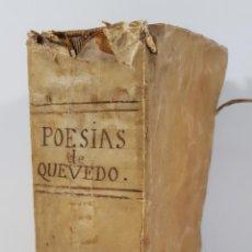 Libros antiguos: EL PARNASSO ESPAÑOL. FRANCISCO DE QUEVEDO VILLEGAS. MADRID. 1729.. Lote 146832650