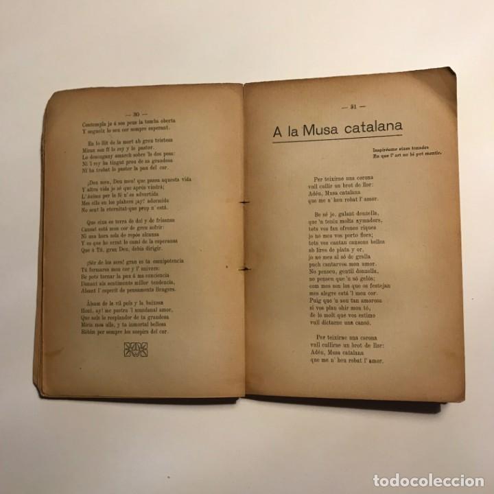 Libros antiguos: Semprevives, poesies Joan Planas y Feliu 1910 Imprempta de La Veu de l'Empordà, Figueres - Foto 5 - 146956478