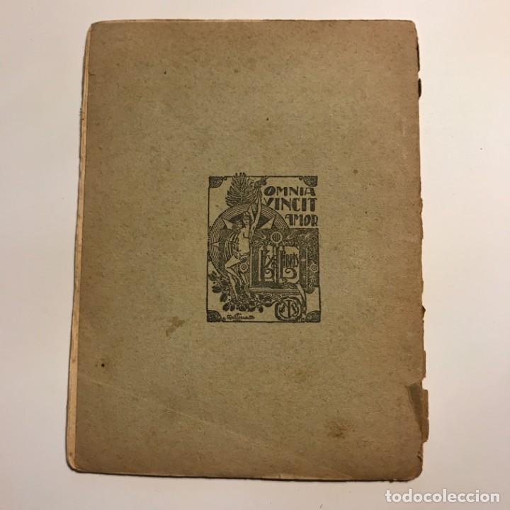 Libros antiguos: Rapsodias. Cants de Patria (Poesías) - BELLO, José María - Foto 2 - 146956730