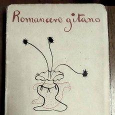 Libros antiguos: FEDERICO GARCÍA LORCA - ROMANCERO GITANO - REVISTA DE OCCIDENTE - 1928 - PRIMERA EDICIÓN. Lote 147374898