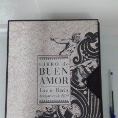 Libros antiguos: ARCIPRESTE DE HITA - LIBRO DE BUEN AMOR - EXCELENTE EDICION CONMEMORATIVA LIMITADA E ILUSTRADA. Lote 147388145