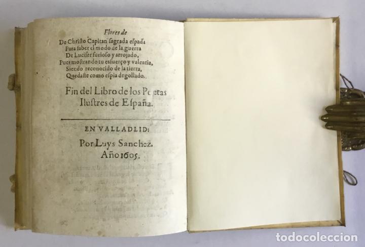 Libros antiguos: PRIMERA PARTE DE LAS FLORES DE POETAS ILUSTRES DE ESPAÑA, dividida en dos libros. Ordenada por... Di - Foto 11 - 109021994