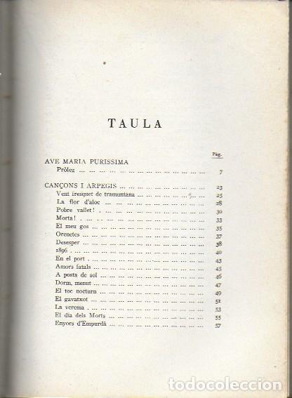 Libros antiguos: La cobla. Tria de poesies originals / Joaquim Ruyra. BCN, 1932. 19x14cm. 133 p. - Foto 2 - 149876326