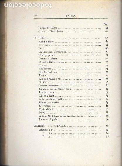Libros antiguos: La cobla. Tria de poesies originals / Joaquim Ruyra. BCN, 1932. 19x14cm. 133 p. - Foto 3 - 149876326
