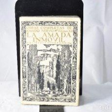 Libros antiguos: LA AMADA INMOVIL. OBRAS COMPLETAS DE AMANDO NERMO VOLUMEN XII. Lote 149896906