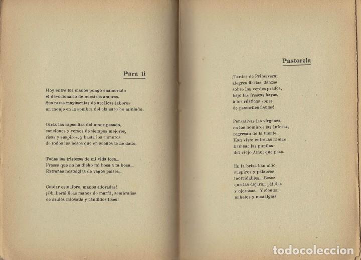 Libros antiguos: F. Villaespesa, La Copa del Rey de Thule. Tercera ed. aumentada. 1909. Envío certificado incluído - Foto 2 - 150356602