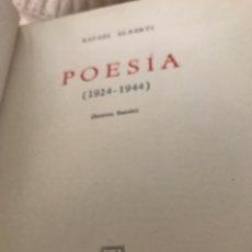 Libros antiguos: LIBRO POESÍA DE RAFAEL ALBERTI. Lote 151192848