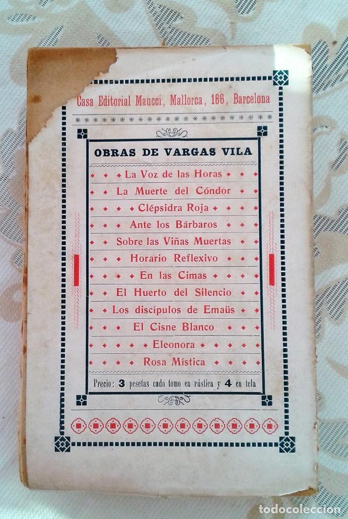 Libros antiguos: LA CASA DEL PECADO FRANCISCO VILLAESPESA EDITORIAL MAUCCI BARCELONA S/F INTONSO - Foto 4 - 151483766