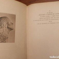 Libros antiguos: JUAN RAMON JIMENEZ, 1935, CANCION. PRIMERA EDICION, TAPAS EN MAL ESTADO.VER IMAGENES.. Lote 152699898