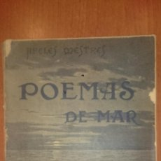 Libros antiguos: POEMAS DE MAR. APELES MESTRES.1900. POESÍA. Lote 153110034