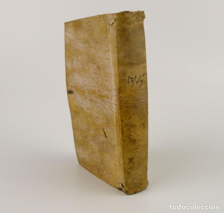JOSHEPO JUVENCIO- DE ARTE RHETORICA-LIBRO TAPAS DE PERGAMINO- AÑO 1.774 (Libros antiguos (hasta 1936), raros y curiosos - Literatura - Poesía)