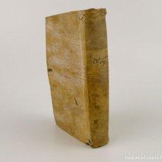 Libros antiguos: JOSHEPO JUVENCIO- DE ARTE RHETORICA-LIBRO TAPAS DE PERGAMINO- AÑO 1.774. Lote 232592050
