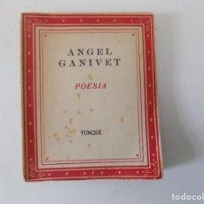 Libros antiguos: LIBRERIA GHOTICA. LIBRO MINIATURA. ANGEL GANIVET. POESIA. EDITORIAL YUNQUE 1940.. Lote 153889238