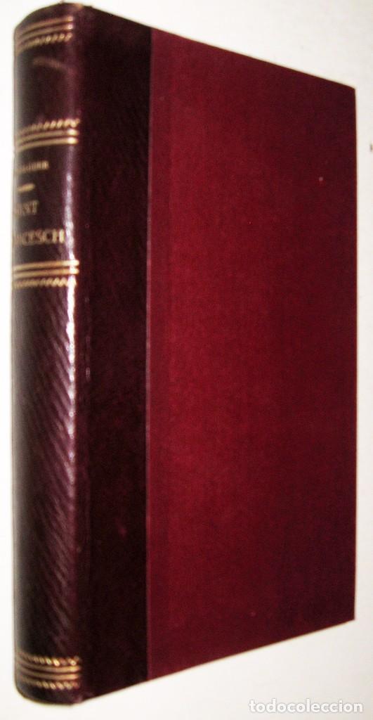 1909 SAN FRANCISCO - JACINTO VERDAGUER (Libros antiguos (hasta 1936), raros y curiosos - Literatura - Poesía)