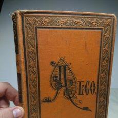 Libros antiguos: ALGO, JOAQUÍN MARÍA BARTRINA, 1884 / ILUSTRACIONES JOSE LUIS PELLICER. Lote 154196672