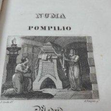 Libros antiguos: NUMA POMPILIO SEGUNDO REY DE POEMA DE FLORIAN AÑO 1831. Lote 154198810