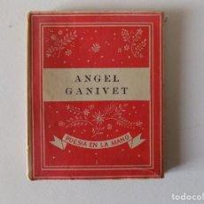 Libros antiguos: LIBRERIA GHOTICA. LIBRO MINIATURA. ANGEL GANIVET. EDITORIAL YUNQUE 1939.. Lote 154962206