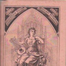 Libros antiguos: POESIAS CATALANAS / FREDERICH SOLER ( SERAFÍ PITARRA ); IL. TOMÁS PADRÓ. BCN : GERMANS SALVAT, 1875.. Lote 154965466