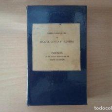 Libros antiguos: OBRES COMPLETES DE MIQUEL COSTA Y LLOBERA - POESIES - JOAN ALCOVER. Lote 156631006