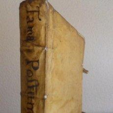 Libros antiguos: JUAN PÉREZ DE MONTALBÁN: FAMA PÓSTUMA A LA VIDA Y MUERTE DE LOPE DE VEGA. MADRID, 1636. Lote 156668290
