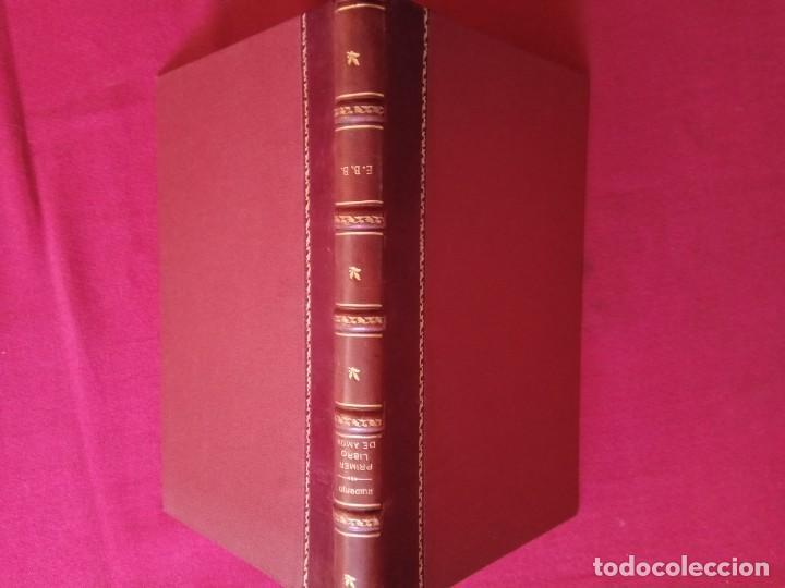 Libros antiguos: Primer libro de amor. 1935-1939. DIONISIO Ridruejo. - Foto 2 - 157229378