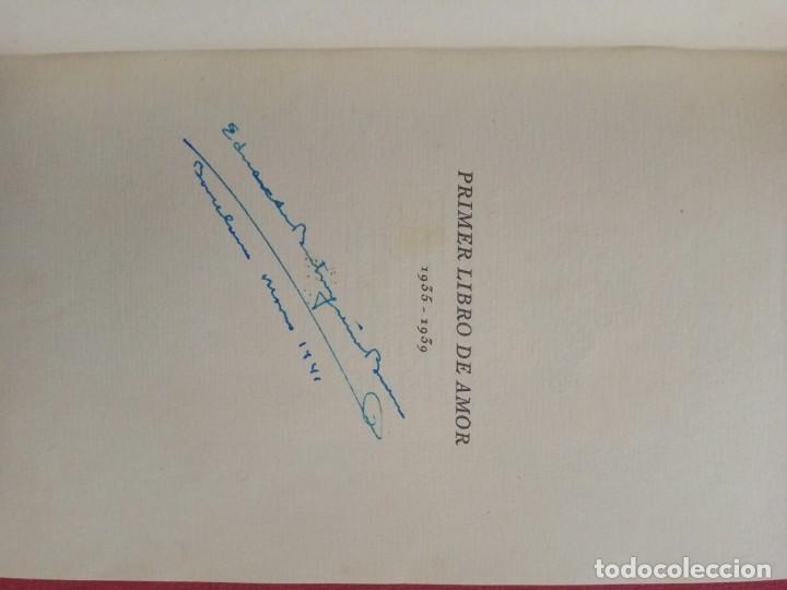 Libros antiguos: Primer libro de amor. 1935-1939. DIONISIO Ridruejo. - Foto 3 - 157229378