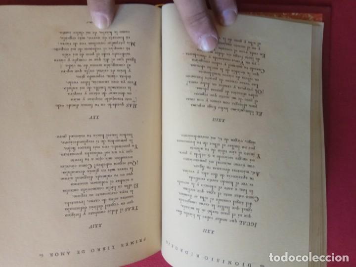 Libros antiguos: Primer libro de amor. 1935-1939. DIONISIO Ridruejo. - Foto 6 - 157229378