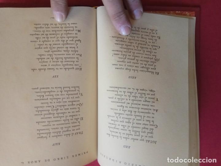 Libros antiguos: Primer libro de amor. 1935-1939. DIONISIO Ridruejo. - Foto 7 - 157229378