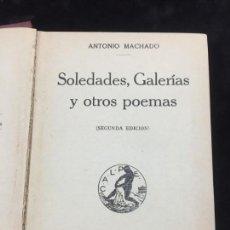 Libros antiguos: MACHADO MANZONI GARCILAZO POESÍAS EDITORIAL CALPE 1919. Lote 157523982
