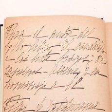 Libros antiguos: PILAR DE VALDERRAMA : LA PIEDRAS DE HOREB : DEDICATORIA AUTÓGRAFA DE PILAR A CANSINOS - ASSENS. Lote 157957762
