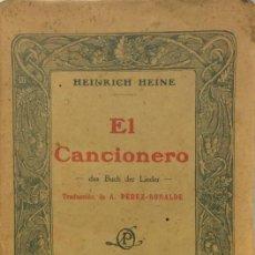 Alte Bücher - El cancionero - Heinrich Heine - 158490988
