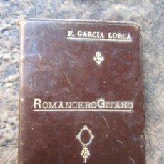 Libros antiguos: LIBRO ROMANCERO GITANO FEDERICO GARCIA LORCA SEGUNDA EDICION . Lote 158895714