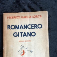 Alte Bücher - ROMANCERO GITANO - FEDERICO GARCIA LORCA - 1936 - 160008466