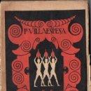 Libros antiguos: F. VILLAESPESA : VASOS DE ARCILLA (EDITORIAL MADRID, 1924) . Lote 160651594
