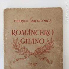 Alte Bücher - Romancero gitano Federico García Lorca. Editorial nuestro pueblo, 1937 - 161859026