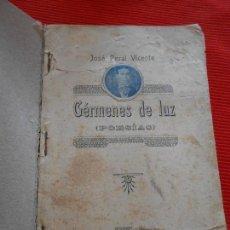 Libros antiguos: GERMENES DE LUZ (POESIAS). Lote 162835430