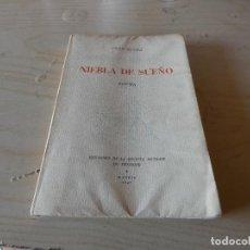 Libros antiguos: PINO OJEDA NIEBLA DE SUEÑO, EDICIONES REVISTA MENSAJE DE TENERIFE 1947 IMPOSIBLE HACER OFERTA. Lote 163075698
