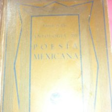 Libros antiguos: POESIA MEXICANA. Lote 163605754
