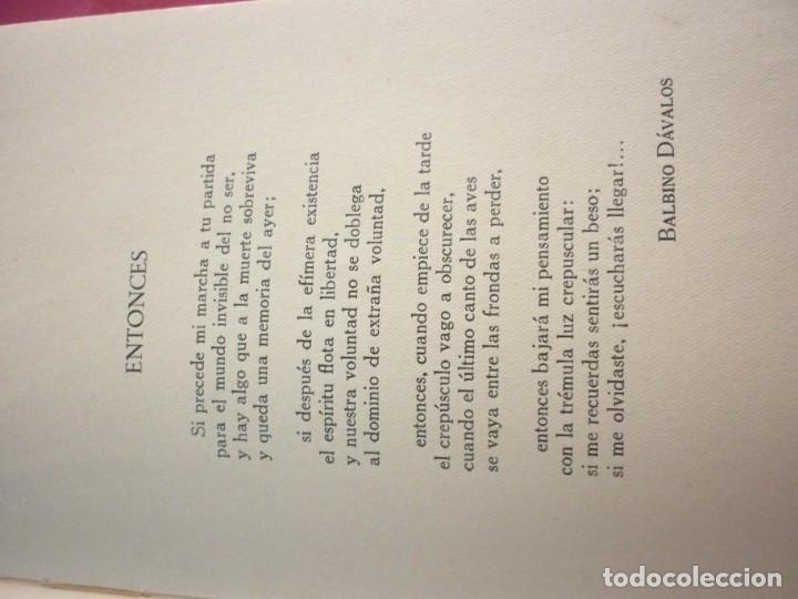 Libros antiguos: POESIA MEXICANA - Foto 3 - 163605754