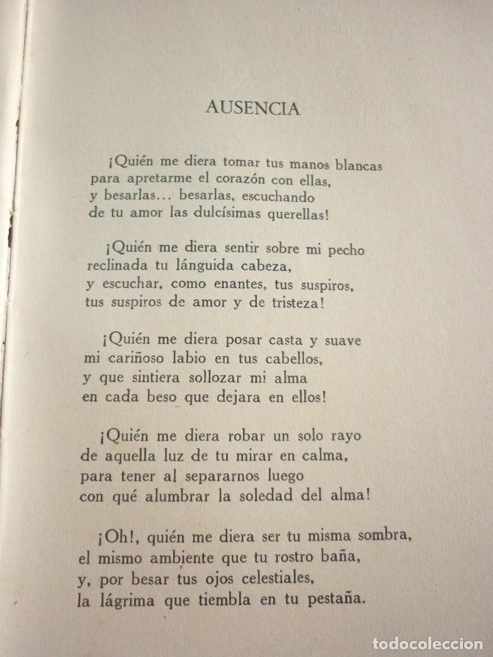 Libros antiguos: POESIA MEXICANA - Foto 5 - 163605754