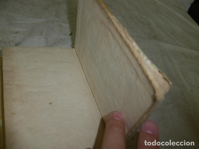 Libros antiguos: Antiguo libro de pergamino de poesia de 1757. Poesie del signor abate pietro metastasio. Original - Foto 17 - 164764222